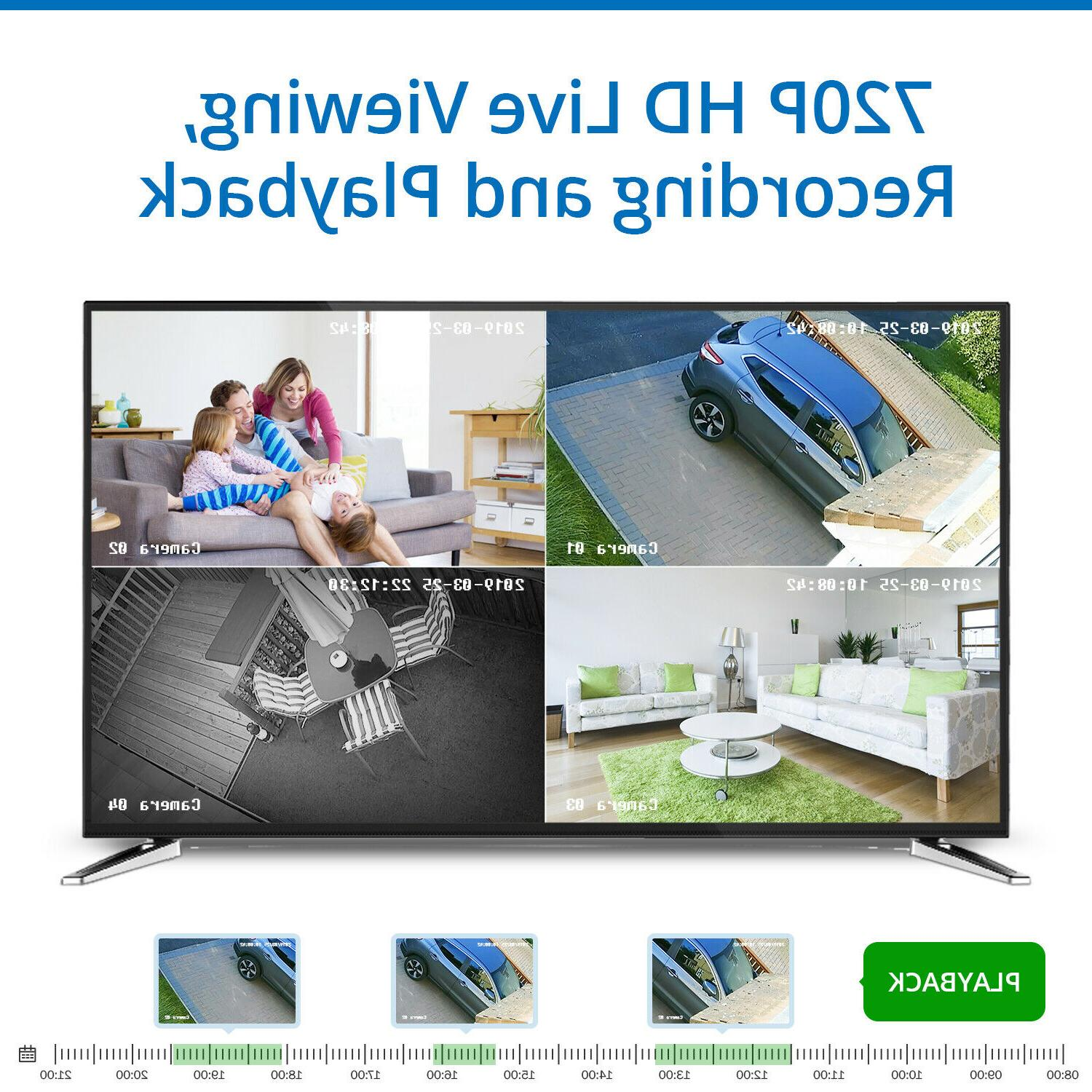 SANNCE HDMI Outdoor Camera IR Vision 2TB