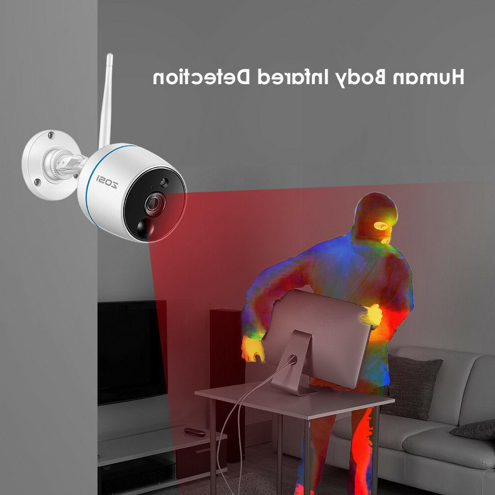 ZOSI 1080p NVR HD Outdoor Security System