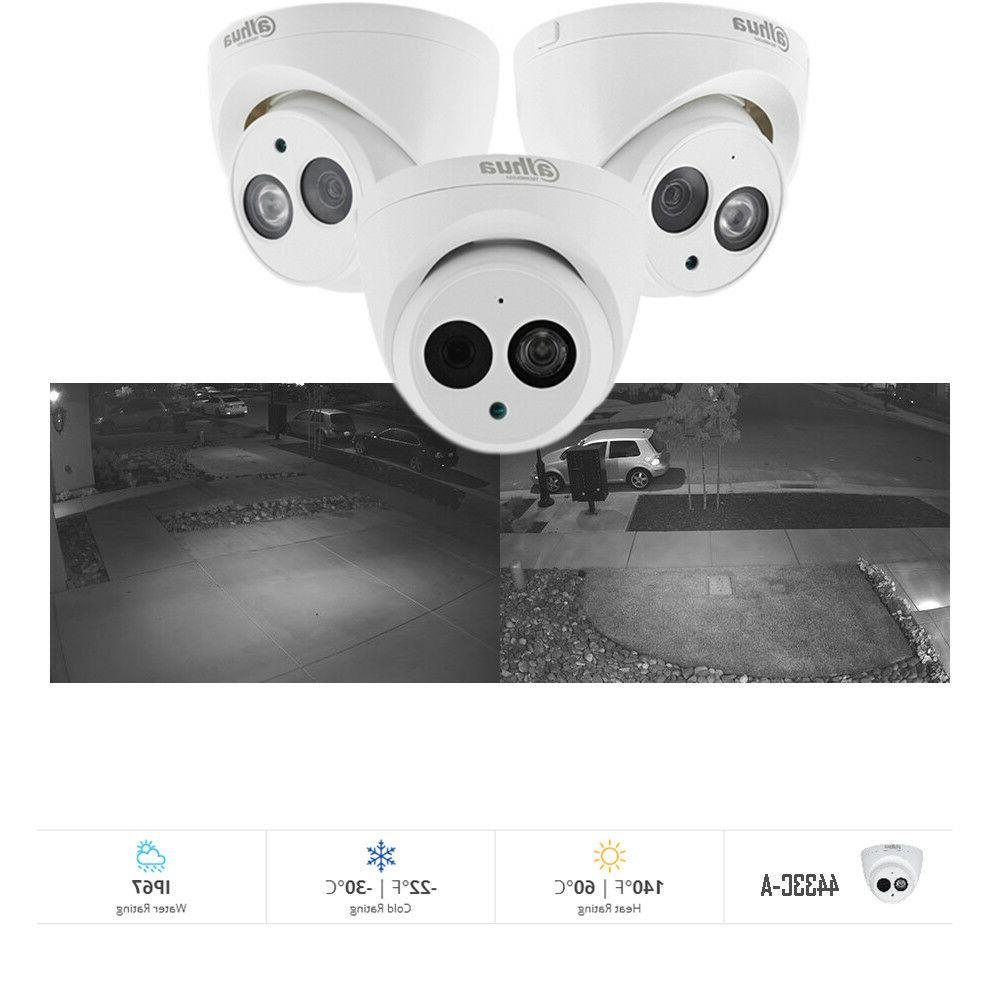 Dahua 8CH NVRHome System POE Cameras in