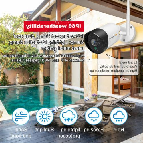 5MP Wireless System Audio Wifi Security Vision