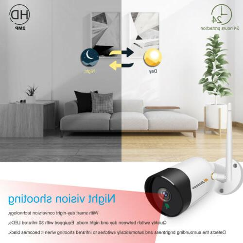 5MP Camera System Audio Wifi CCTV Security Night Vision Home