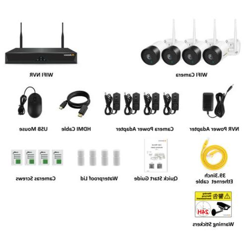 System 4CH Wifi Night Vision Home