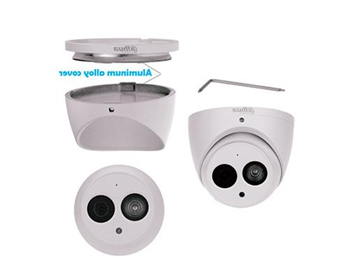 Dahua 6MP POE Built-in Mic Metal Dome Security