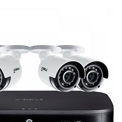 8 channel 4 camera 4k security system