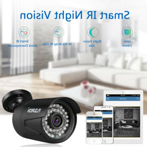 8CH 1080P Camera Kit System Outdoor/Indoor