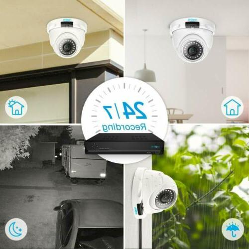 Reolink Security System 2TB RLK8-520D4-5MP