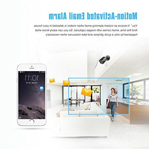 ANNKE Home Lite HDD and 1080P Outdoor Email Alert Images