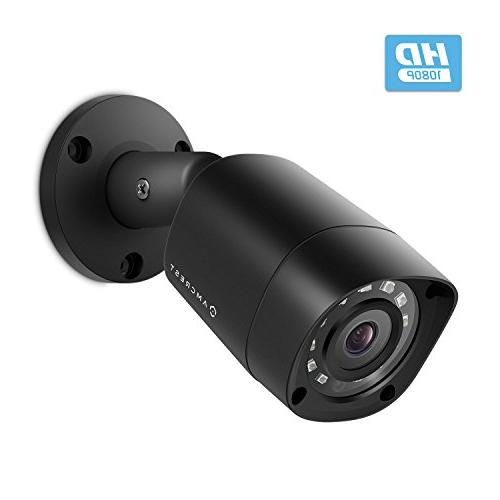 Amcrest Full-HD 1080P Video Security System 2MP Outdoor IP67 Cameras, 66ft