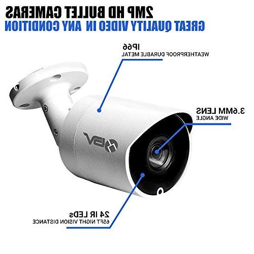 Best Vision 16CH System 8pcs High Definition with - DIY for Smartphone