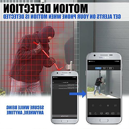 Best Vision 16CH 4-in-1 HD DVR System , 8pcs 2MP High with Vision DIY Kit, App for Smartphone