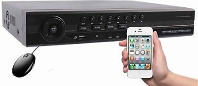 HDView 12 Channel Security DVR NVR: 8 Channel HD DVR  Camera