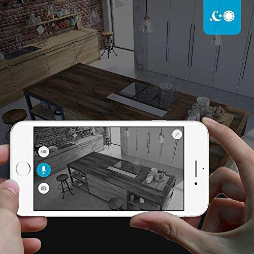 Zmodo 720p HD Home Security Camera Two-Way Audio