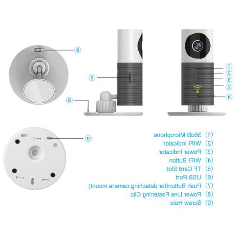 Clever Dog Cleverdog Home Security Camera Monitor Smart phones Tablets