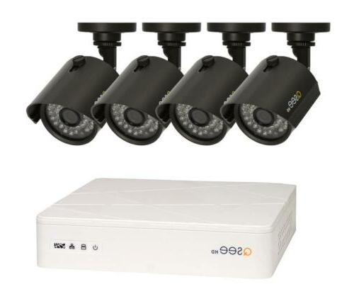 hd 720p 8 channel dvr security system