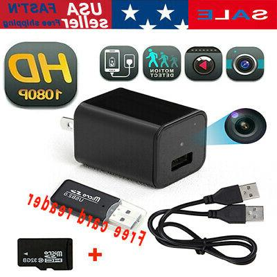 mini charger camera 1080p full hd 32gb