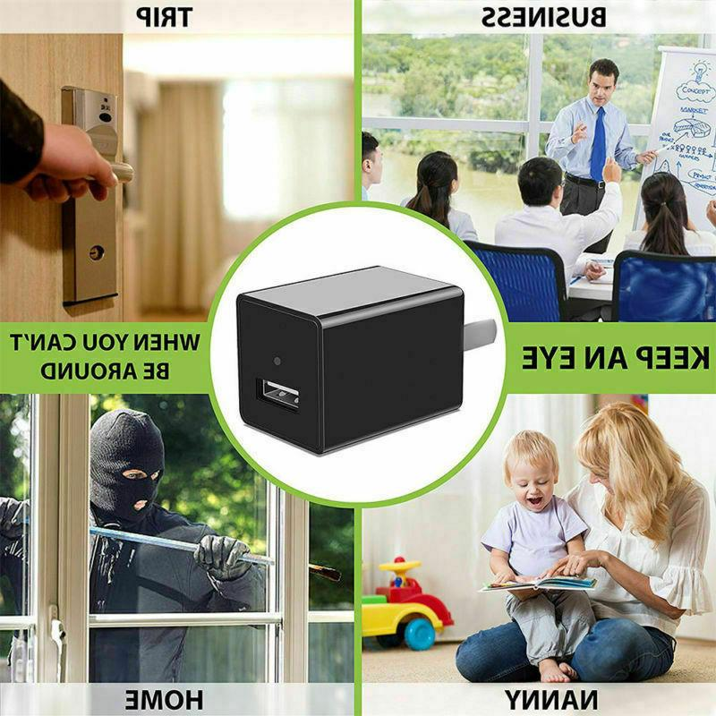 Mini Charger Full 32GB Card Camcorder Security DVR Record