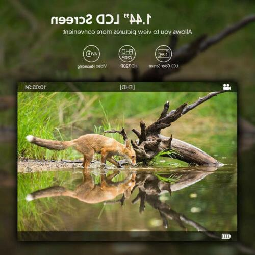 Mobile Trail Camera 18MP Video Game hunting Cams