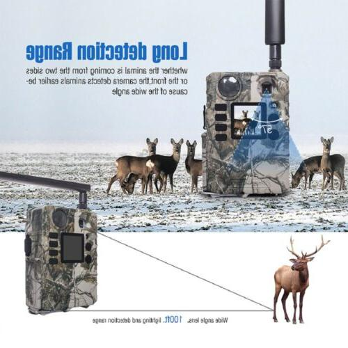 Mobile AT&T Cellular Trail Video Game hunting Cams