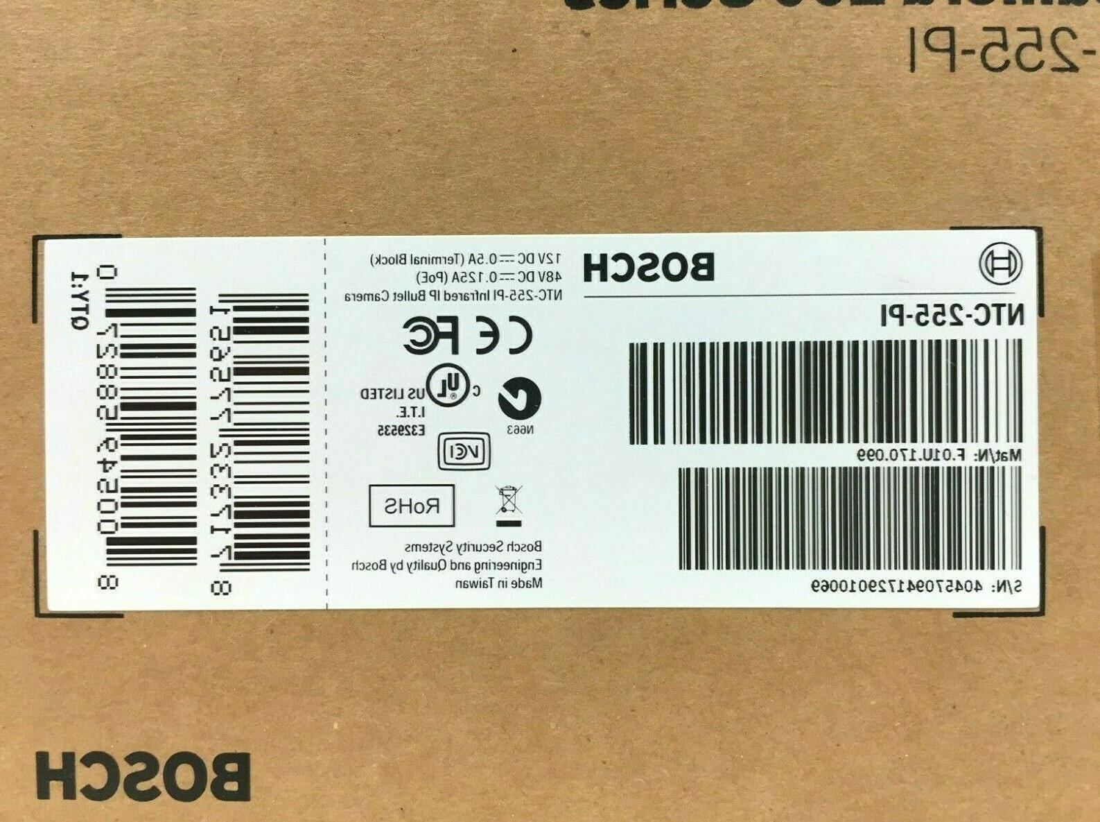 Bosch NTC-255-PI Security Network Color IP Camera NEW