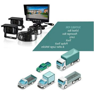 Pyle Rearview Backup Camera for Trucks, Buses,