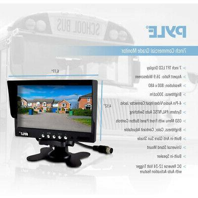 Pyle Rearview Camera System Buses,