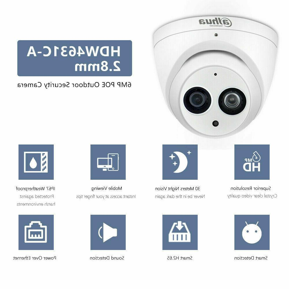 Security 6MP Dome IP Camera