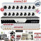 16 Channel HD Security Camera System Set with 16x 1080P HD C