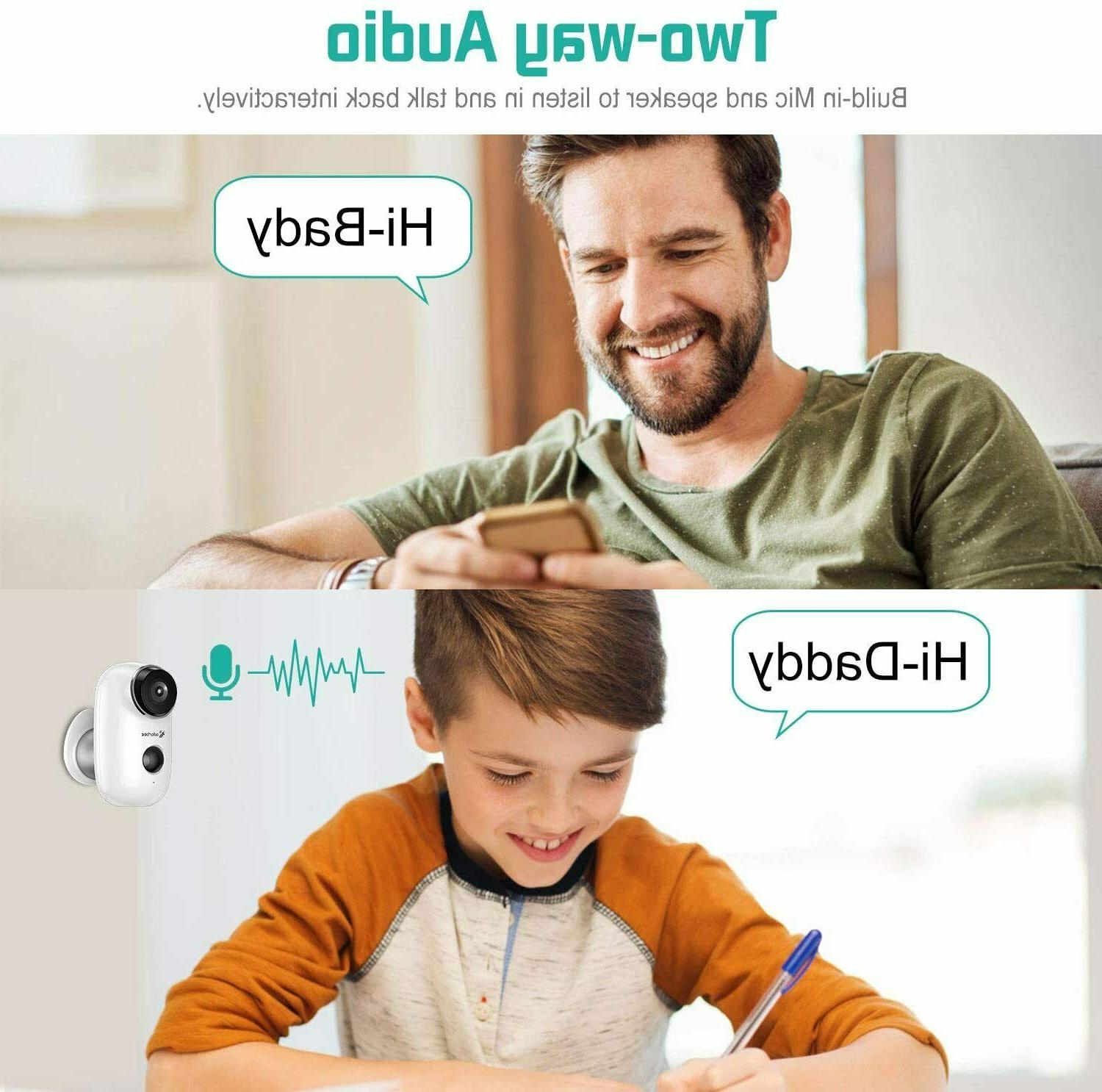 Adorbee WiFi Outdoor Wireless Security Home-A3,HD720P