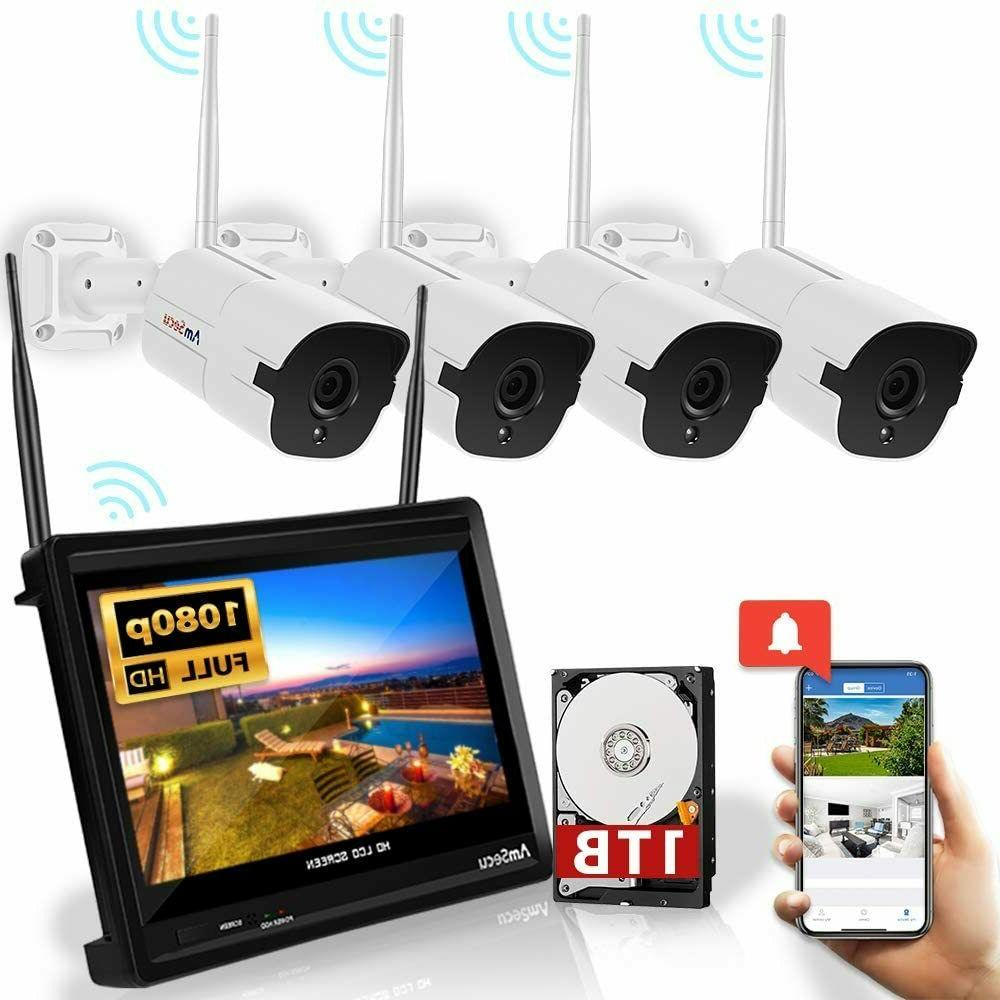 wireless security camera system all in one