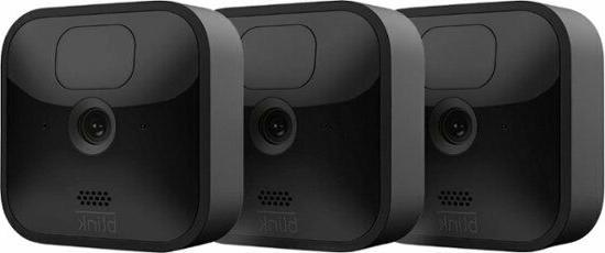 All-new Blink 3 Camera Kit Home Security System HD Video, Mo