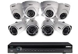 Lorex 16 Channel 4K NVR 8 IP Cameras Security System NR9163