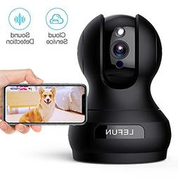 Pet Wireless Security Camera with Sound Detect Motion Tracki