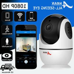 ANRAN Security Camera System Outdoor Home Signal Two-way Aud