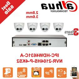 security kits 4ch 4poe 4k nvr 2104hs