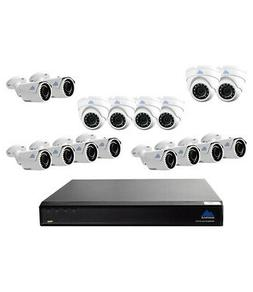 Montavue 16 Channel Security Camera System 4K Ultra HD NVR w