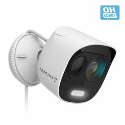Amcrest SmartHome 1080p WiFi Outdoor Security Camera Deterre