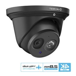 Amcrest UltraHD 8M 4K Turret PoE Dome Outdoor Security IP Ca