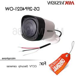 Hikvision Waterproof Microphone for CCTV security Cameras Ou