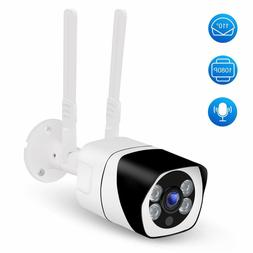 WiFi Outdoor Security Camera 1080P, 110°Wide Angle, Two-Way