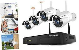 Wireless Security Camera Systems,8-Channel Full HD 1080P Sur