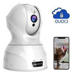 Wireless Security Camera,KAMTRON HD WiFi Security Surveillan
